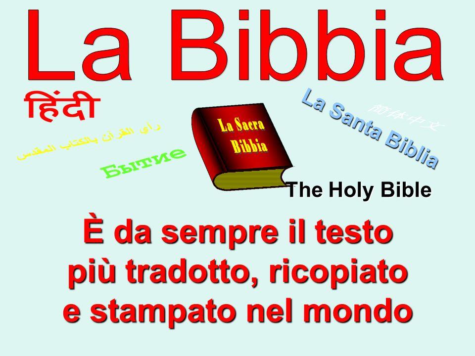 Con il termine canone, a partire dal IV secolo, si indica lelenco normativo dei libri ispirati.