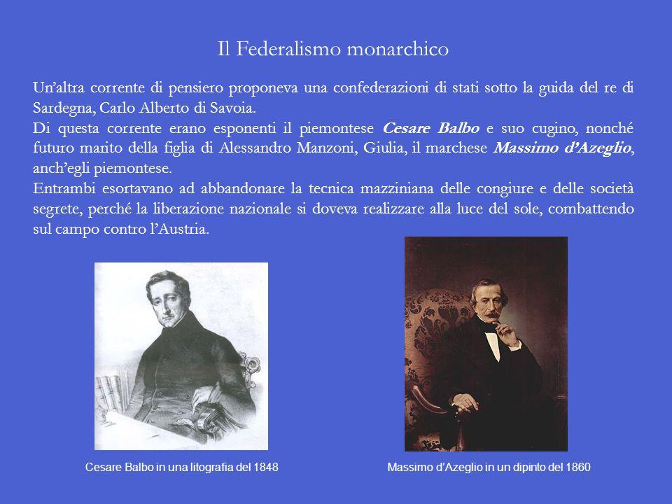 Il Federalismo repubblicano Tra gli oppositori dei neoguelfi, ossia tra i neoghibellini, si segnalò, su tutti, il milanese Carlo Cattaneo, il quale er