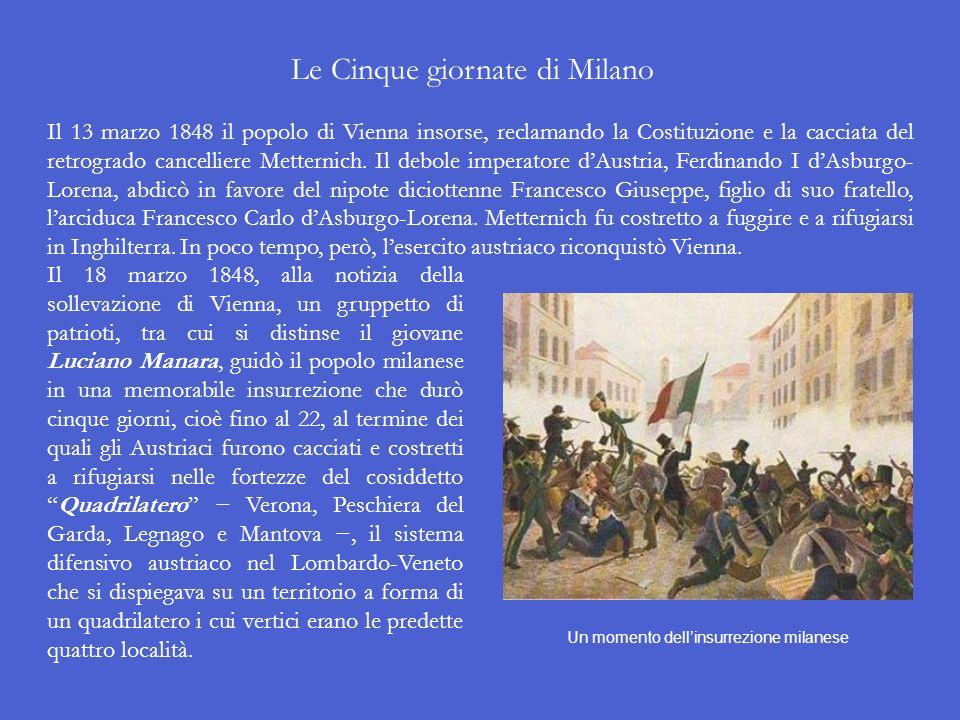 Lo Statuto Albertino e le altre Costituzioni concesse nel 1848 Sullesempio della concessione della Costituzione a Palermo, altri sovrani italiani furo