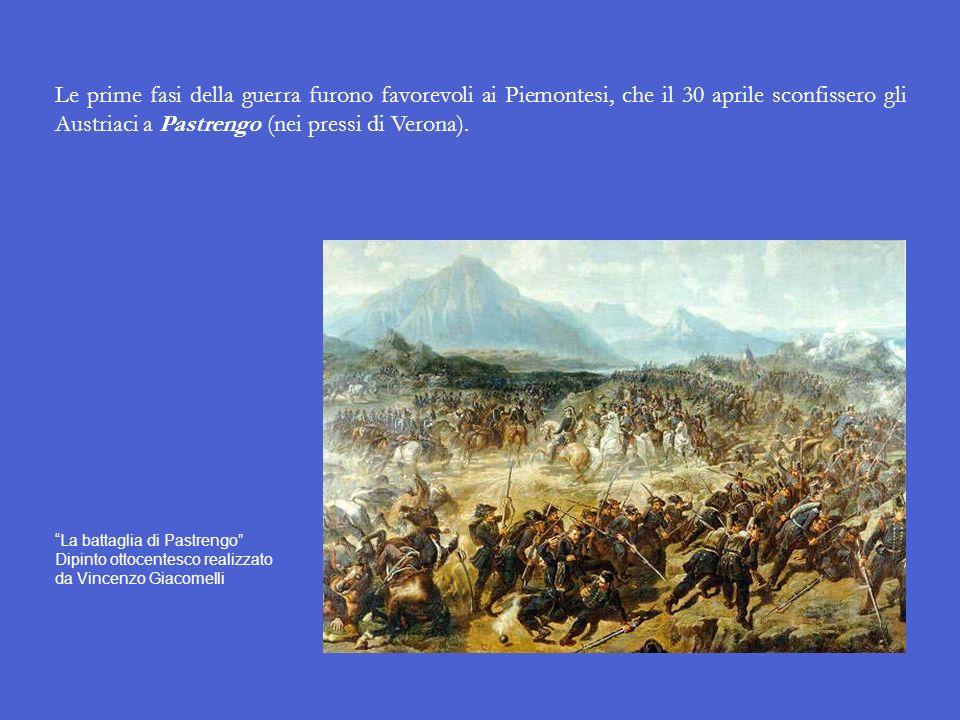 Linizio della prima guerra dindipendenza italiana Al termine delle Cinque giornate, delegazioni di patrioti milanesi si recarono a Torino dal re di Sa