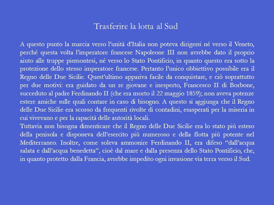 Lannessione della Toscana e dellEmilia-Romagna al Piemonte Dopo la pace di Zurigo i duchi e i monarchi di Modena, Parma, Piacenza, Firenze, Bologna e
