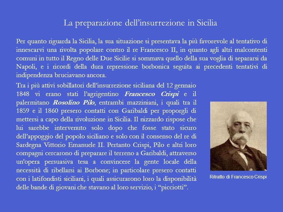 Trasferire la lotta al Sud A questo punto la marcia verso lunità dItalia non poteva dirigersi né verso il Veneto, perché questa volta limperatore fran