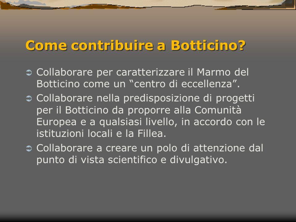 Come contribuire a Botticino.