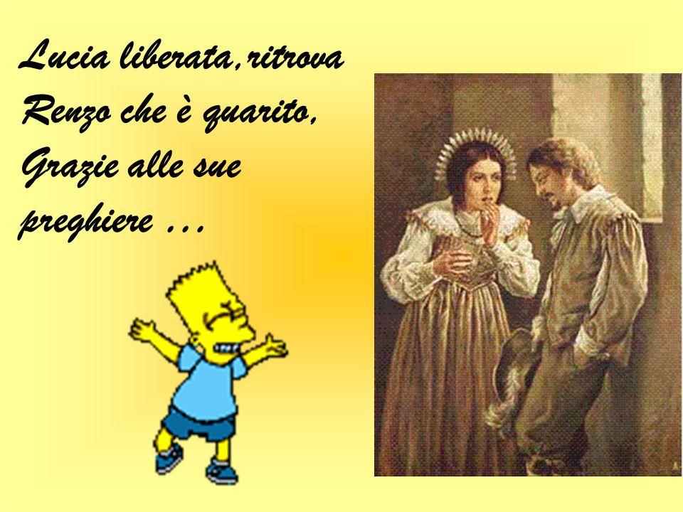 Lucia rapita dallInnominato è tenuta prigioniera nel suo castello …