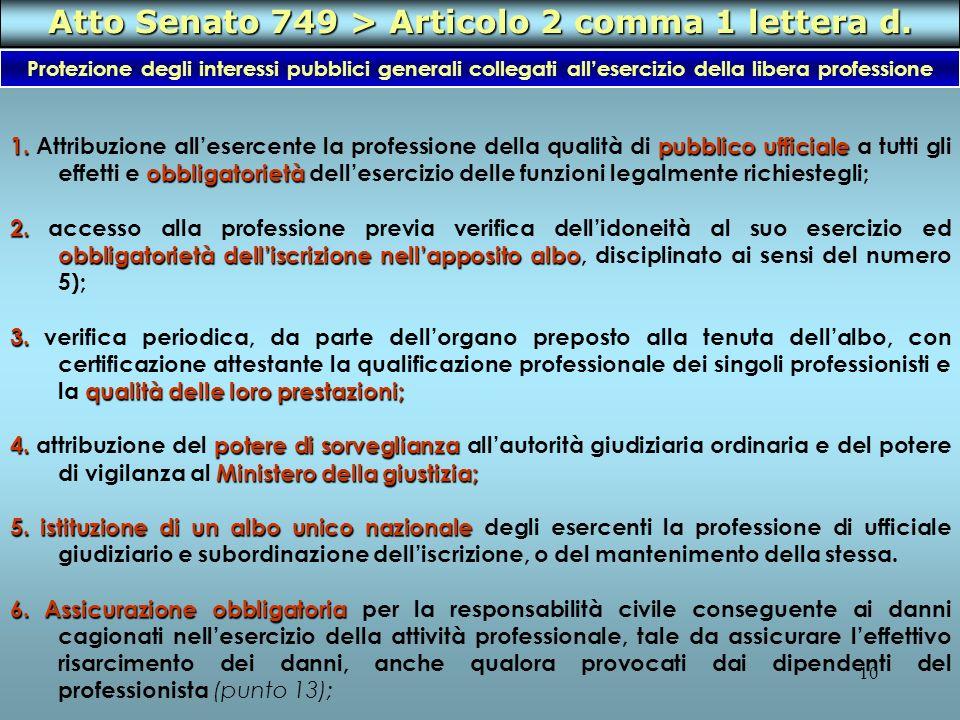 10 1.pubblico ufficiale obbligatorietà 1. Attribuzione allesercente la professione della qualità di pubblico ufficiale a tutti gli effetti e obbligato