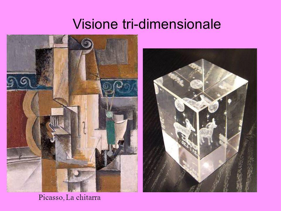 Visione tri-dimensionale Picasso, La chitarra