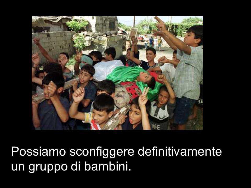 Li ammazzeremo tutti, ha detto Barak…