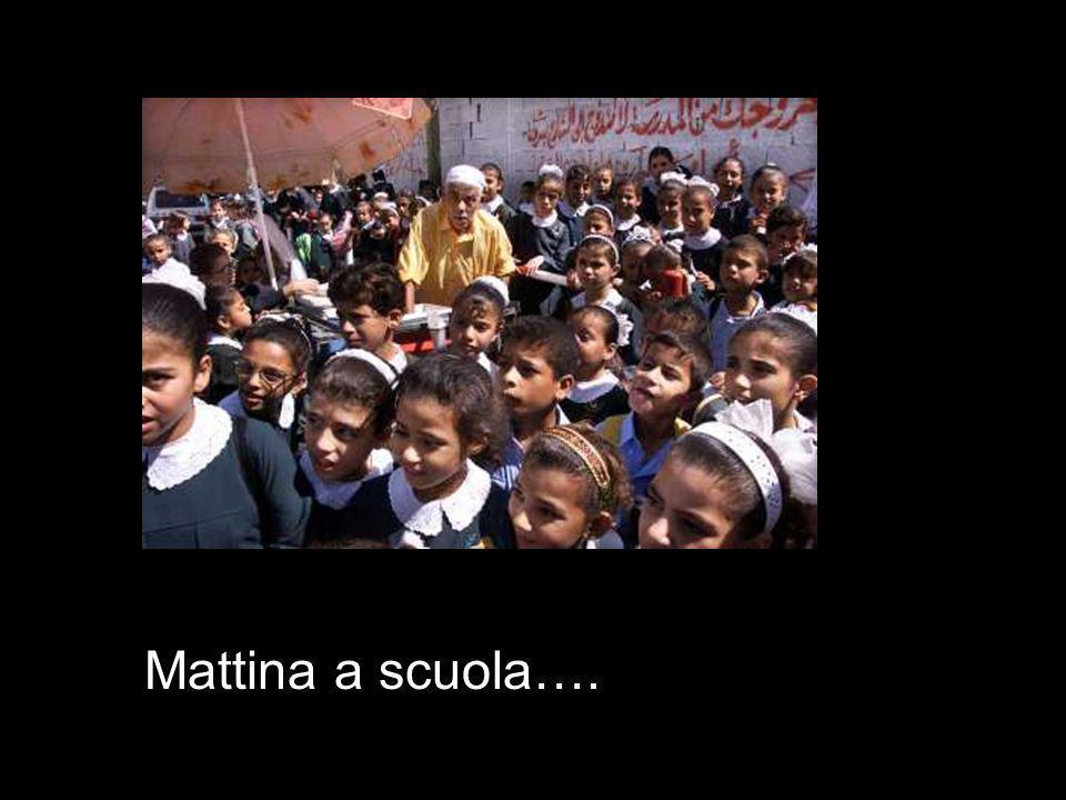 Mattina a scuola….