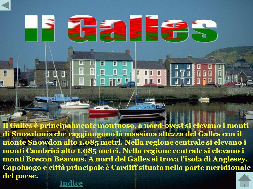 Galles Inghilterra Scozia Irlanda del Nord Indice