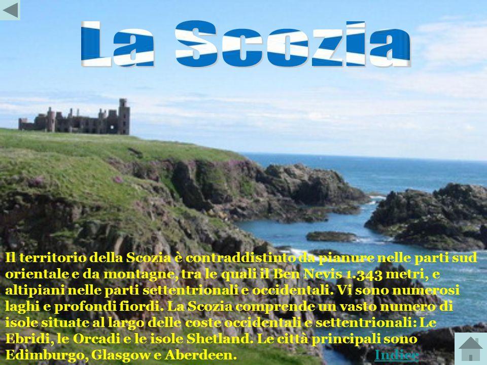 Il Galles è principalmente montuoso, a nord-ovest si elevano i monti di Snowdonia che raggiungono la massima altezza del Galles con il monte Snowdon a