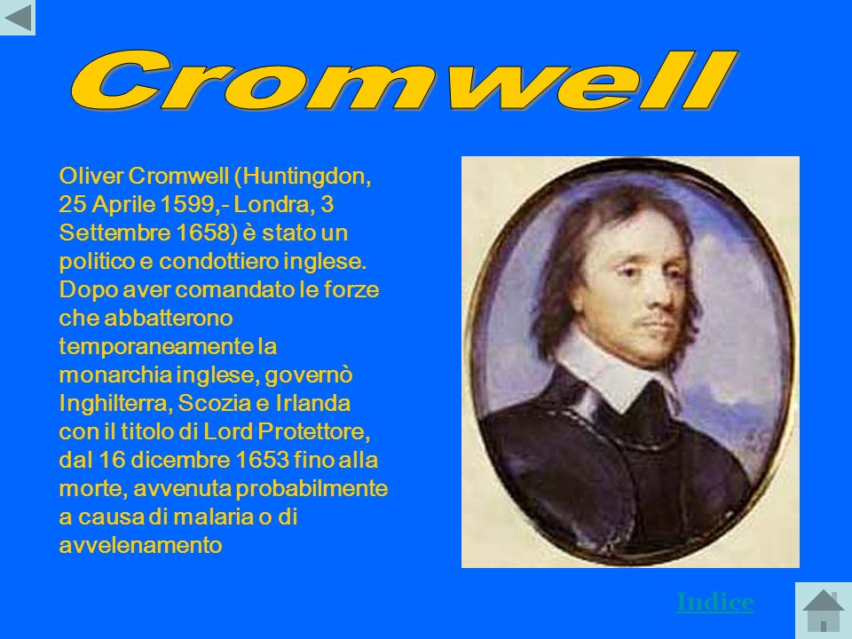 1660: Carlo II Stuart succede a Cromwel 1688: Guglielmo dOrange sbarca in Inghilterra 1685: Giacomo II Stuart sale al trono 1689: Guglielmo dOrange pr