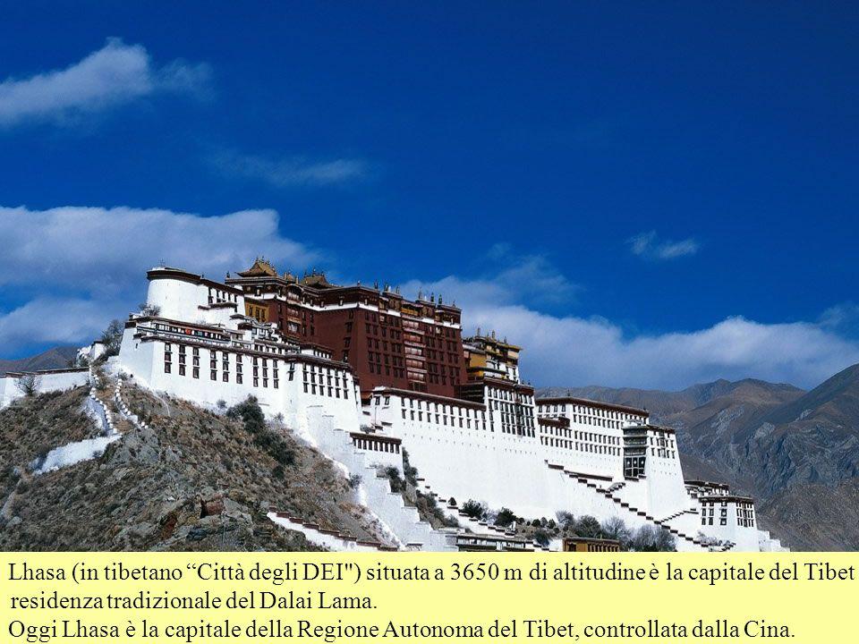 Lhasa (in tibetano Città degli DEI