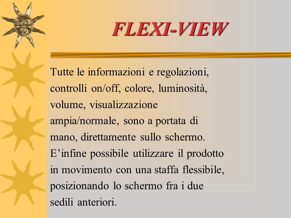FLEXI-VIEW Questo kit di alta qualità offre all utente tutte le opzioni.