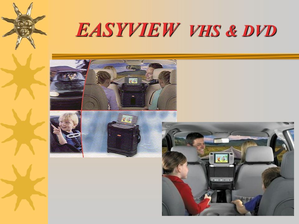 EASYVIEW VHS & DVD EASYVIEW VHS & DVD