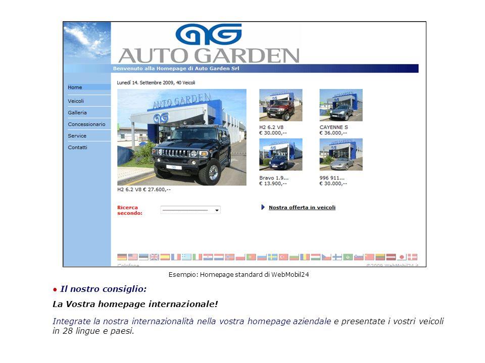 Il nostro consiglio: La Vostra homepage internazionale.