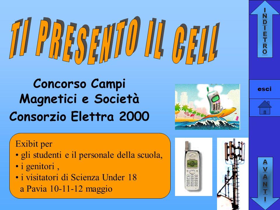 INDIETROINDIETRO AVANTIAVANTI esci Concorso Campi Magnetici e Società Consorzio Elettra 2000 Exibit per gli studenti e il personale della scuola, i ge