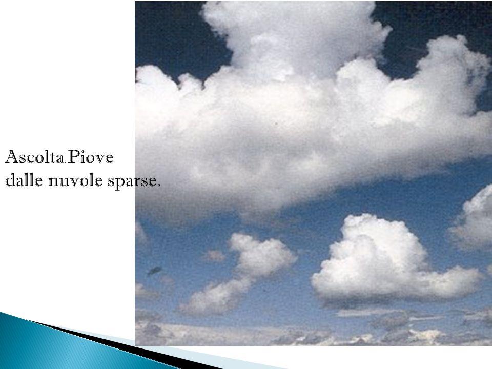 con un crepitio che dura e varia nell aria secondo le fronde più rade, men rade.