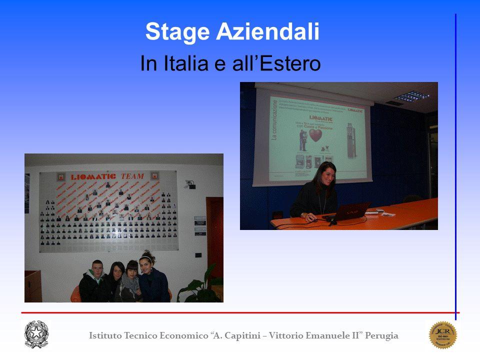 Istituto Tecnico Economico A. Capitini – Vittorio Emanuele II Perugia Stage Aziendali In Italia e allEstero