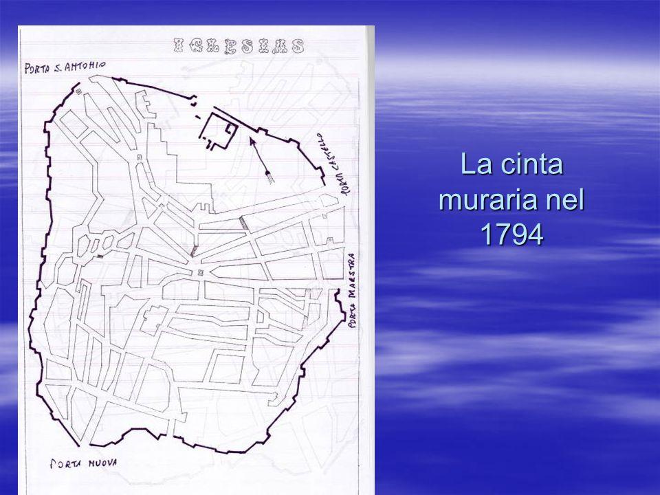La cinta muraria nel 1794