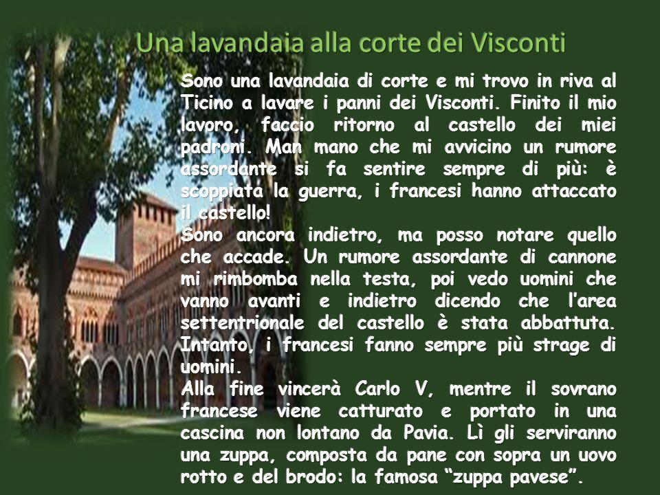 LA FORNAIA Sono Rosetta, la fornaia della città di Pavia. Lavoro nella piazza principale, sotto i portici, vicino al fabbro. Tutte le mattine mi alzo