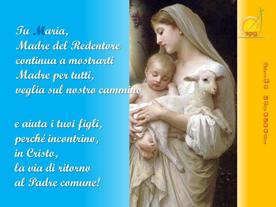 Maria, Madre della Speranza, a Te con fiducia ci affidiamo.