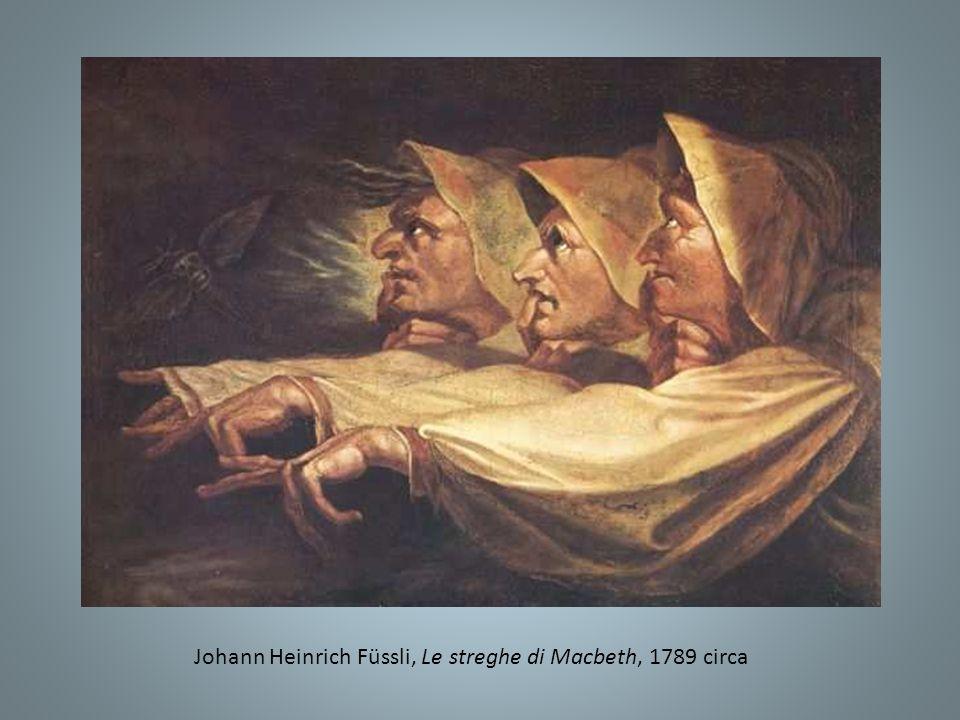 Johann Heinrich Füssli, Le streghe di Macbeth, 1789 circa