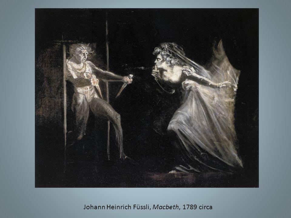 Johann Heinrich Füssli, Macbeth, 1789 circa