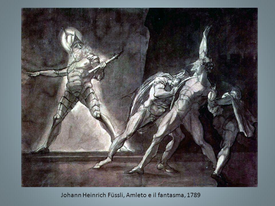 Johann Heinrich Füssli, Amleto e il fantasma, 1789