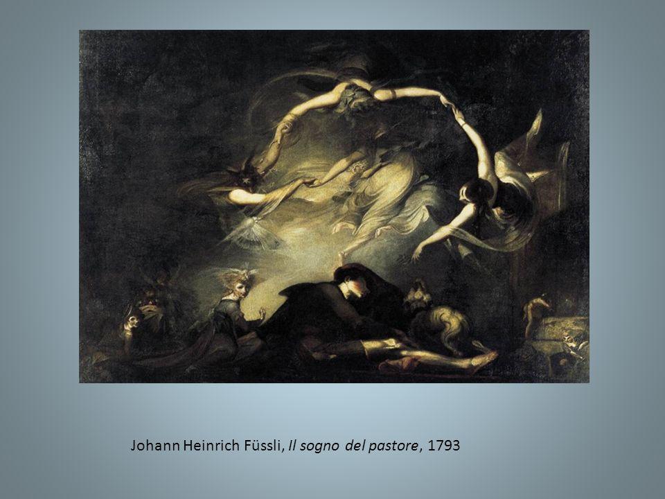 Jean Auguste Dominique Ingres, Il sogno di Ossian, 1813