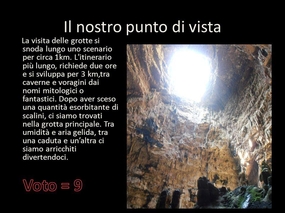 Le grotte di Castellana Le grotte si estendono per una lunghezza di circa 3 chilometri, fino a raggiungere profondità di 72 metri al di sotto del live