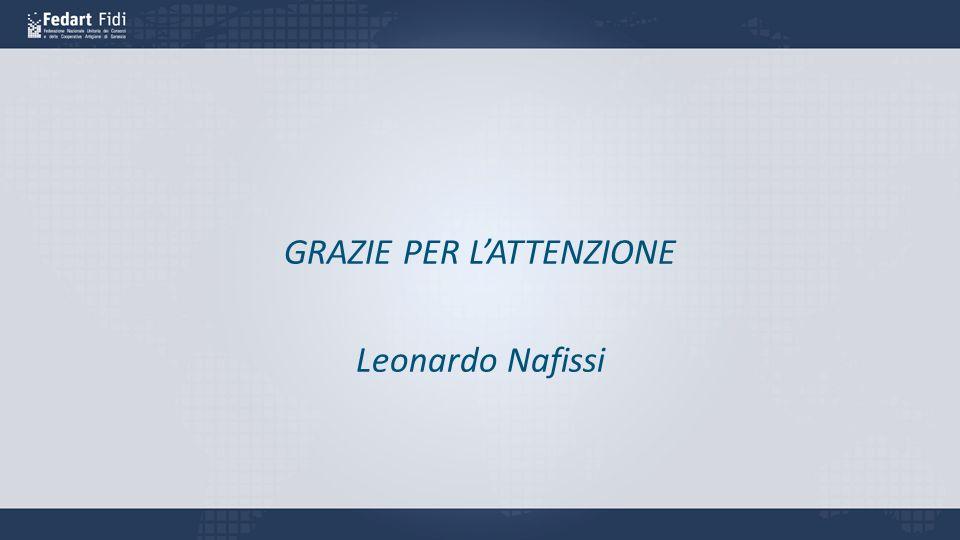 GRAZIE PER LATTENZIONE Leonardo Nafissi