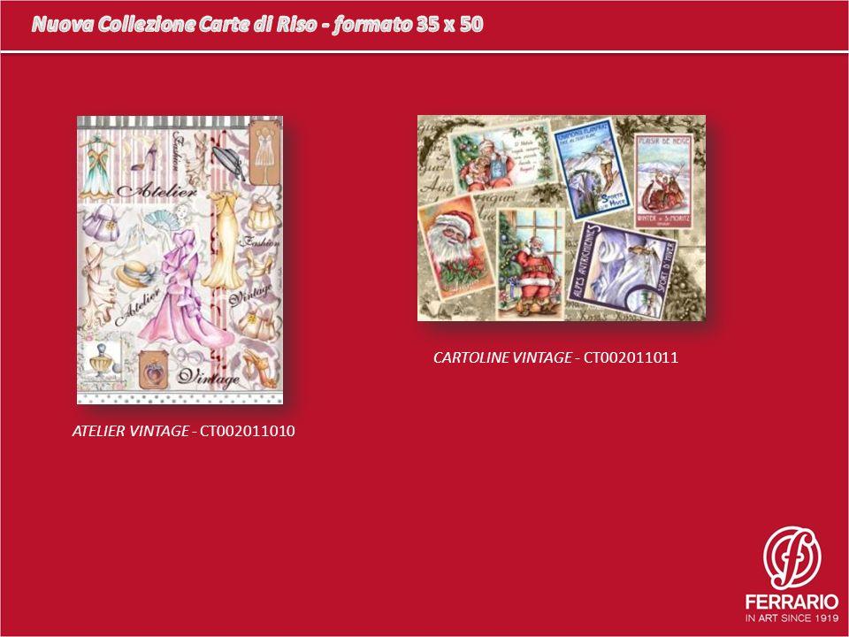 ATELIER VINTAGE - CT002011010 CARTOLINE VINTAGE - CT002011011