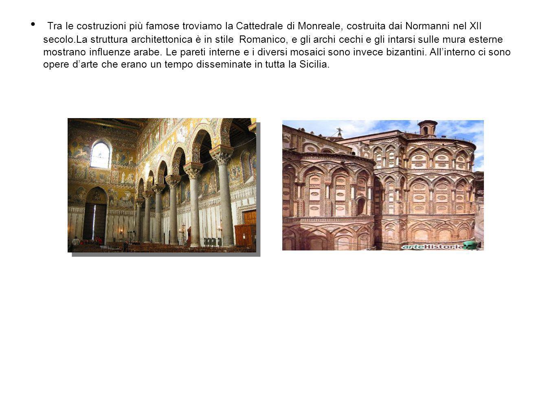 Con la sua superficie mosaicata (di circa 6.340 m²) del XII secolo, questa cattedrale appartiene agli edifici più famosi della Sicilia.