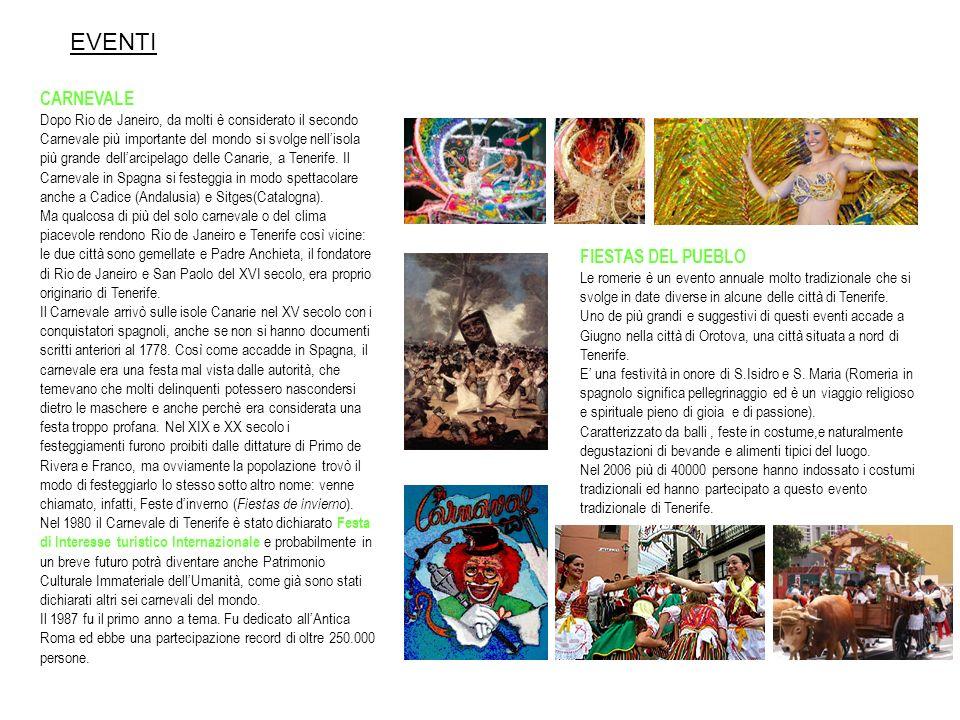 EVENTI CARNEVALE Dopo Rio de Janeiro, da molti è considerato il secondo Carnevale più importante del mondo si svolge nellisola più grande dellarcipela