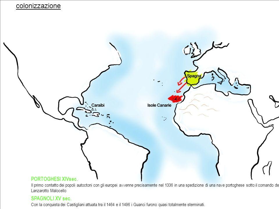 colonizzazione 1797 Nel 1797, lammiraglio Nelson cerca di conquistare con le sue navi la città di Santa Cruz di Tenerife, sconfitto torna in patria facendo tesoro del carattere cordiale e dellospitalità degli insulari.
