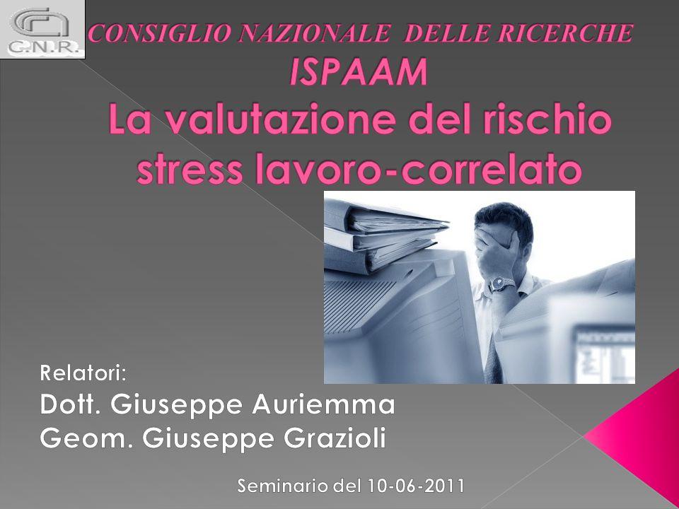 Lo stress lavoro-correlato è uno squilibrio che si verifica quando il lavoratore non si sente in grado di corrispondere alle richieste lavorative.