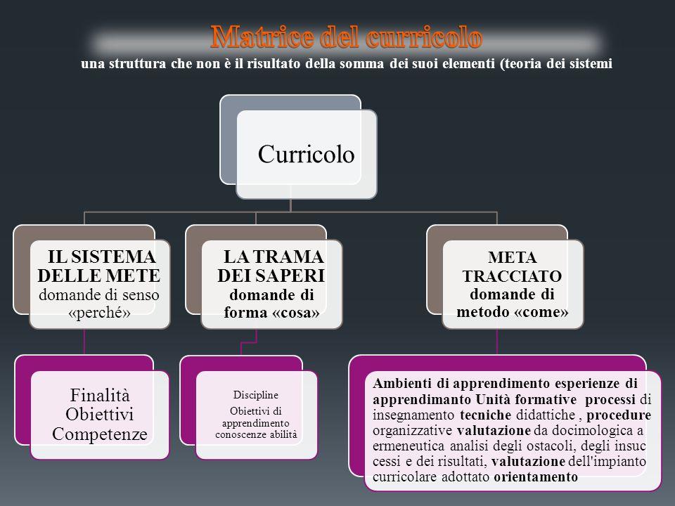 Per riorganizzare in chiave formativa i saperi occorre rispettare un doppio vincolo: quello della significatività (per i bambini e per la cultura/ i saperi disciplinari) e quello delladeguatezza rispetto alle strutture, cognitive, psico-affettive, motivazionali dello studente.