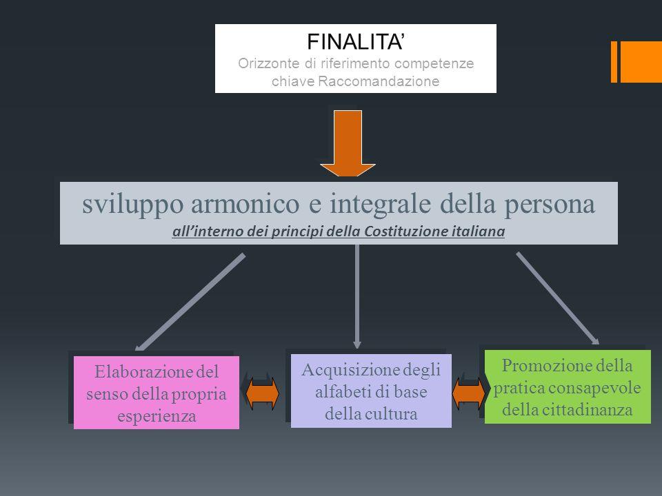 Le padronanze logiche e metodologiche Primo fronte.