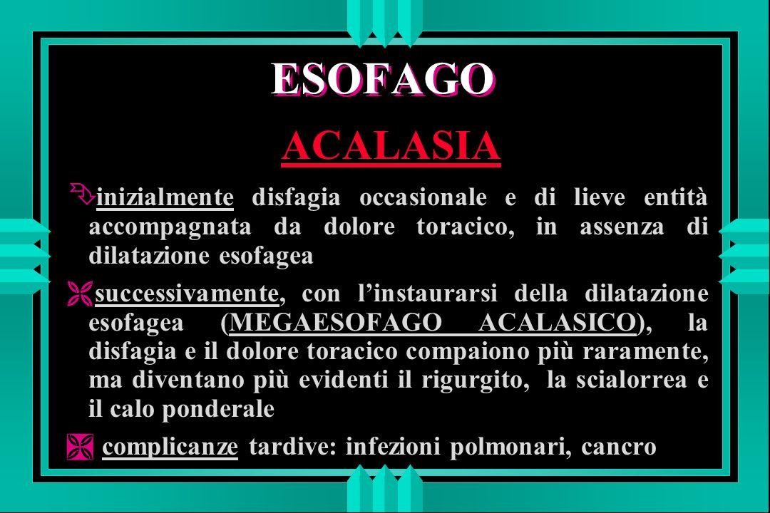 ESOFAGO ACALASIA: terapia 4 IL TRATTAMENTO DI ELEZIONE E LA DILATAZIONE ENDOSCOPICA oppure la 4 MIOTOMIA EXTRAMUCOSA PER VIA CHIRURGICA