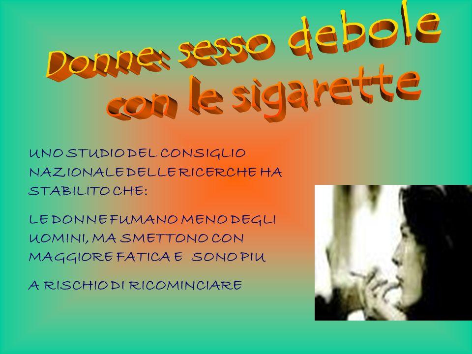 Nei prossimi anni si consoliderà il trend nella caduta del consumo di tabacco nei paesi occidentali, cui farà riscontro un notevole aumento della diff