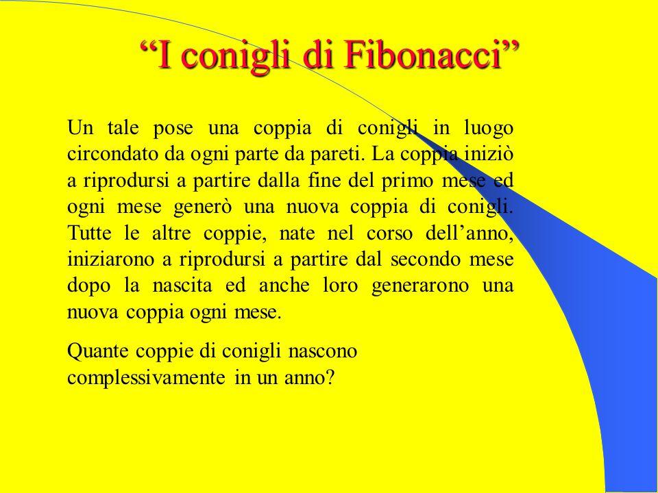 TRE GIOCHI TRATTI DAL LIBER ABACI DI FIBONACCI I conigli di Fibonacci Due Pellegrini La leggenda degli scacchi