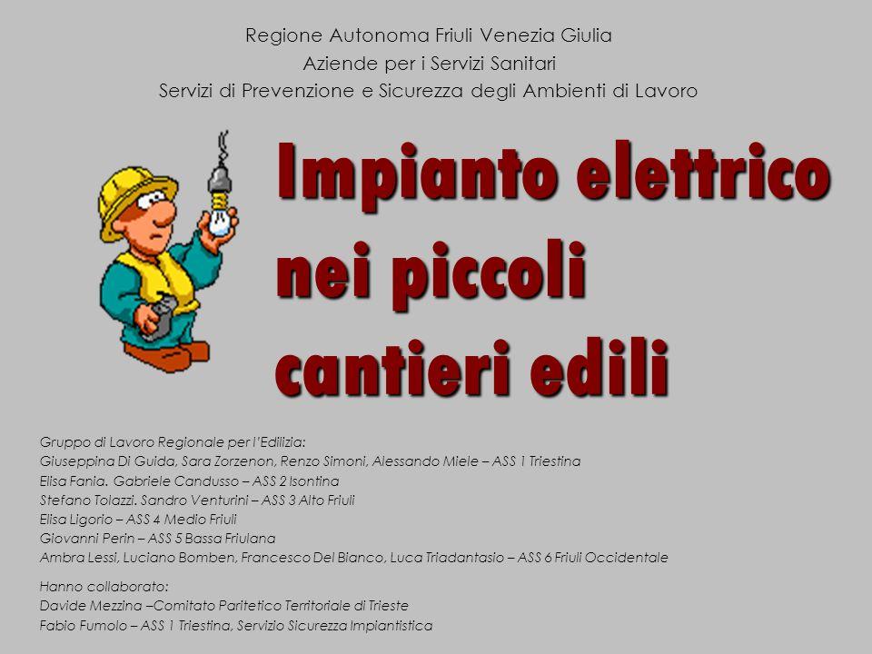 Gruppo di Lavoro Regionale per lEdilizia: Giuseppina Di Guida, Sara Zorzenon, Renzo Simoni, Alessando Miele – ASS 1 Triestina Elisa Fania. Gabriele Ca