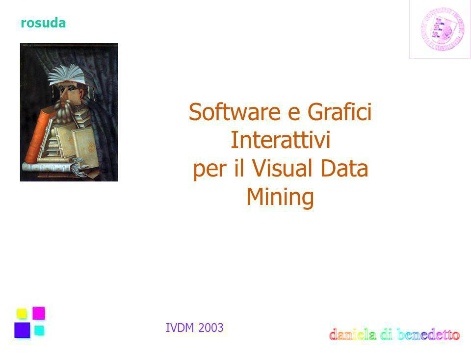 rosuda Software e Grafici Interattivi per il Visual Data Mining IVDM 2003