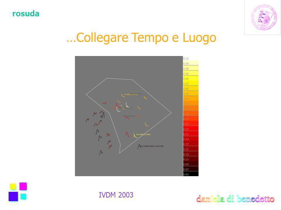 rosuda IVDM 2003 …Collegare Tempo e Luogo
