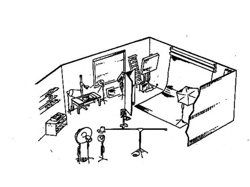 1 = testa per flash da studio con diffusore in tela 2 = window light in tessuto o plastica opalina 3 = proiettore al tungsteno 4 = cerchi diffusore portatile (stoffa bianca) 5 = monotorcia flash con un cono metallico per direzionare il fascio di luce 6 = flash monotorcia con ombrello per riflettere e ammorbidire la luce 7 = bandierina per fare ombra sullobbiettivo della fotocamera o su parte del soggetto 8 = illuminatore al tungsteno