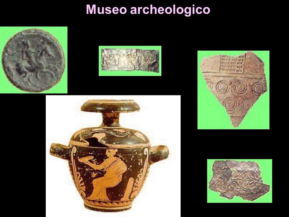 Museo Archeologico prizzese Miliare romano Unico in Sicilia; posto sulla strada consolare Palermo-Agrigento, riporta lepigrafe del con - sole Aurelio