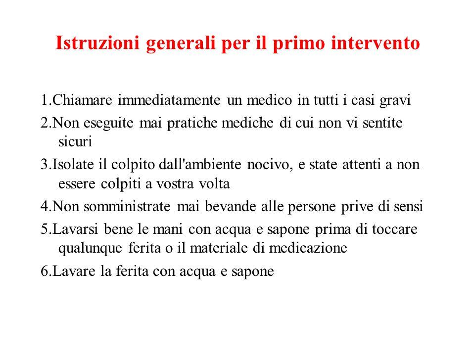 Contaminazione e lesione dell apparato digerente 1.