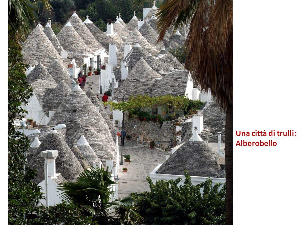 Una città di trulli: Alberobello