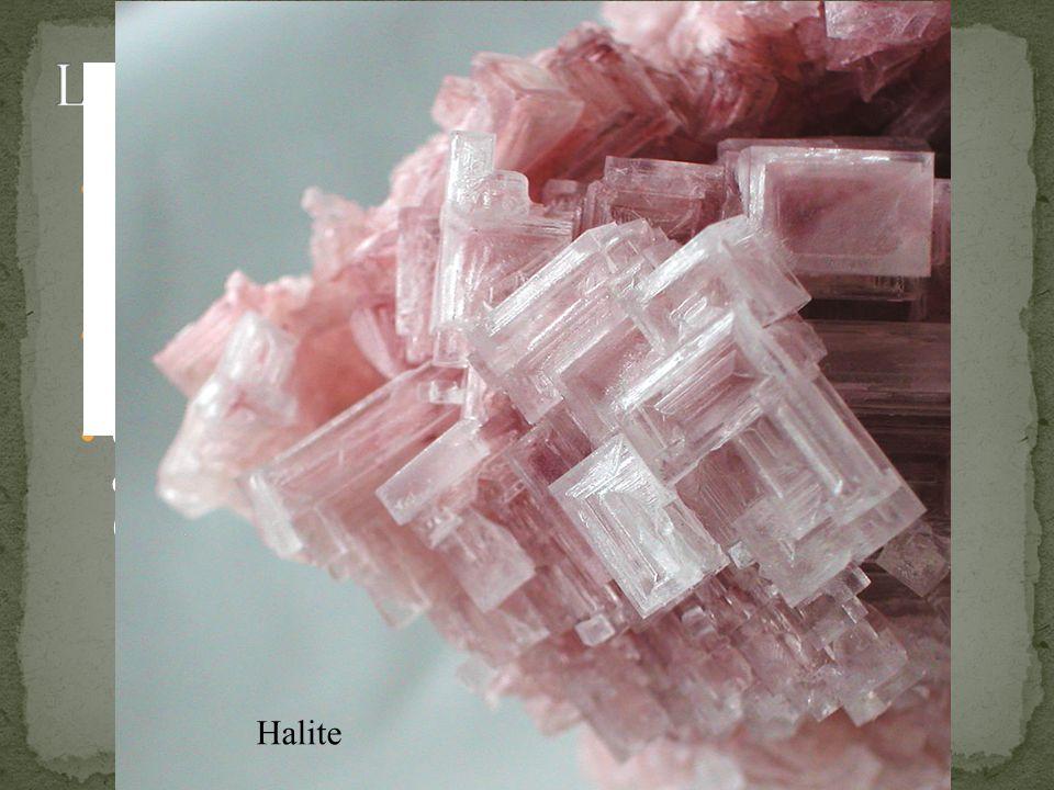 La diversità della varie sostanze è dovuta alla diversità della composizione chimica della materia spiegata dalla teoria atomica Comuque spezziamo del sale otteniamo sempre granellini che hanno le proprieta del sale Questo non va all infinito a un certo punto otteniamo una coppia di atomi di Na (sodio) e Cl (cloro) Halite