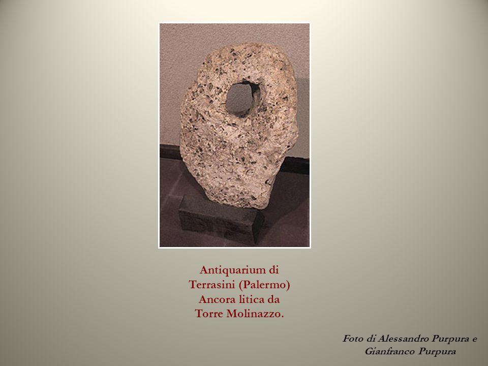 Terrasini, Palermo Puntale in bronzo di un ancora greco- romana.